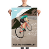 Col du Tourmalet Cycling Prints