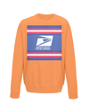 us postal service kids cycling jumper orange