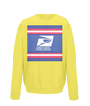 us postal service kids cycling jumper yellow