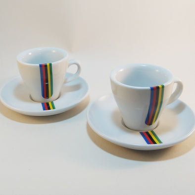 cycling world champ espresso cup