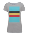 belgium flag womens cycling t-shirt grey