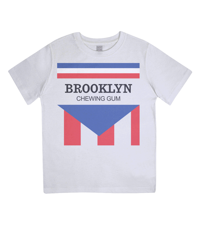 brooklyn chewing gum kids t-shirt