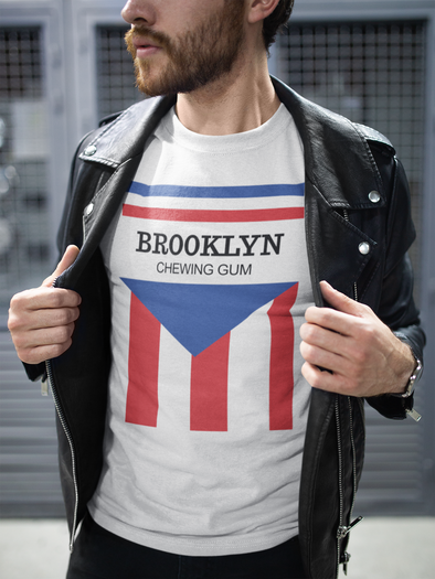 brooklyn chewing gum t-shirt model