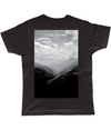col du tourmalet scenery t-shirt black