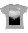 col du tourmalet scenery t-shirt grey