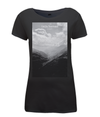 Col du Tourmalet Scenery womens t-shirt black