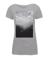 Col du Tourmalet Scenery womens t-shirt grey