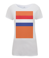 dutch flag womens cycling t-shirt