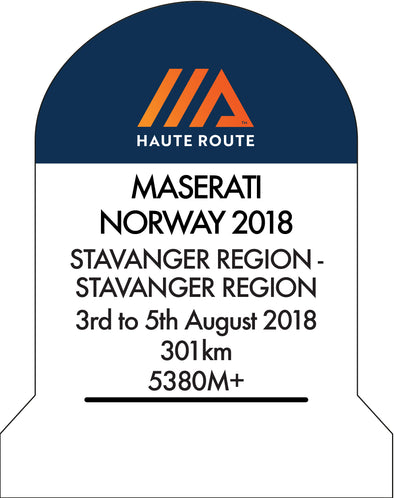 haute route norway marker