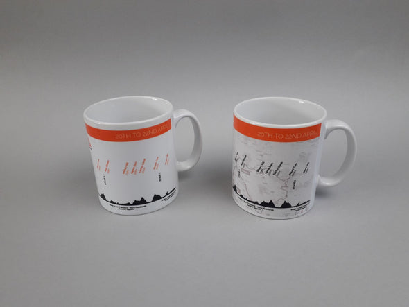 haute route san francisco mug