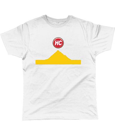 hors categorie cycling t-shirt yellow