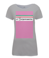 il campionissimo women's t-shirt grey