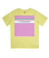 il campionissimo kids t-shirt - yellow