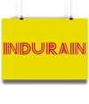 Miguel Indurain poster yellow