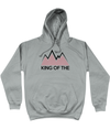 king of the mountains hoodie grey