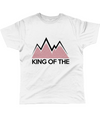 king of the mountains cycling t-shirt