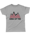 king of the mountains cycling t-shirt grey