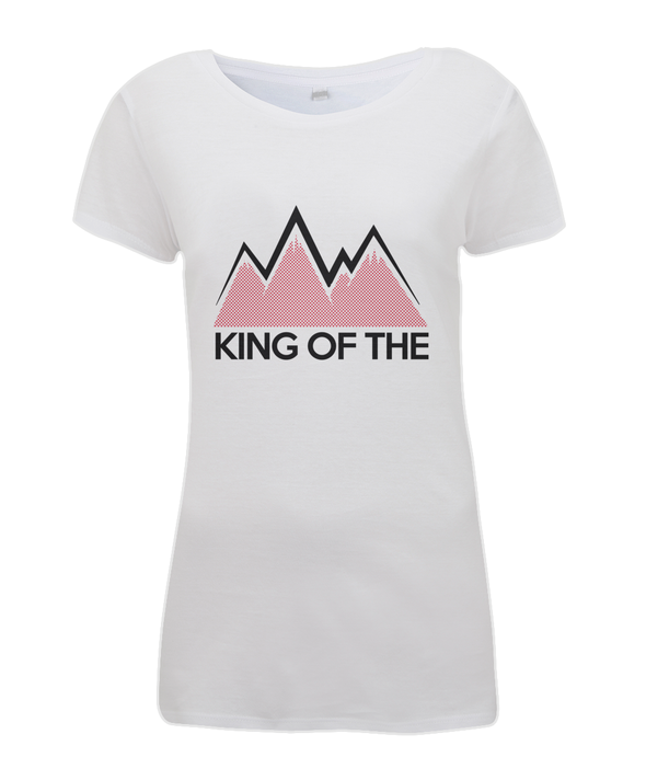 king of the mountains womens cycling t-shirt