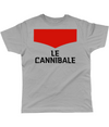 le cannibale cycling t-shirt grey