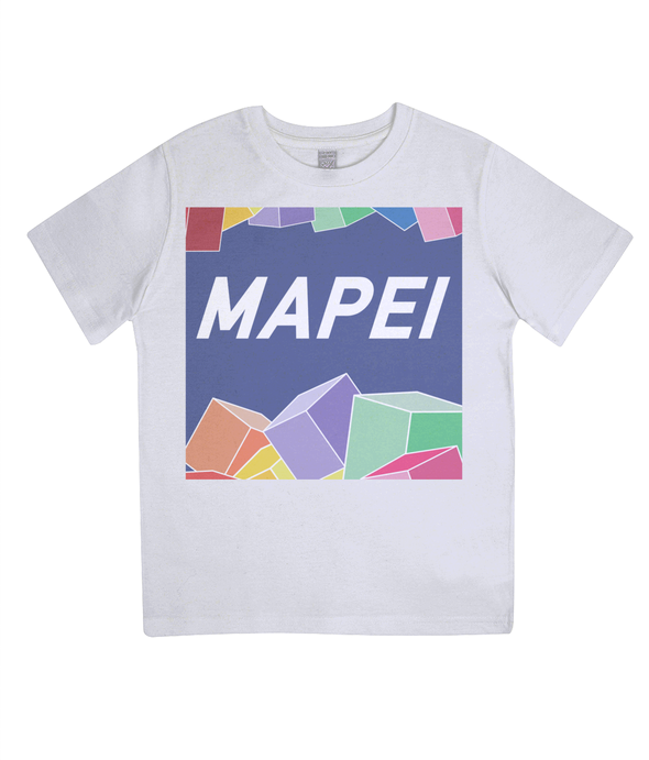mapei kids cycling t-shirt - white