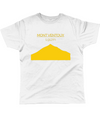 mont ventoux cycling t-shirt yellow