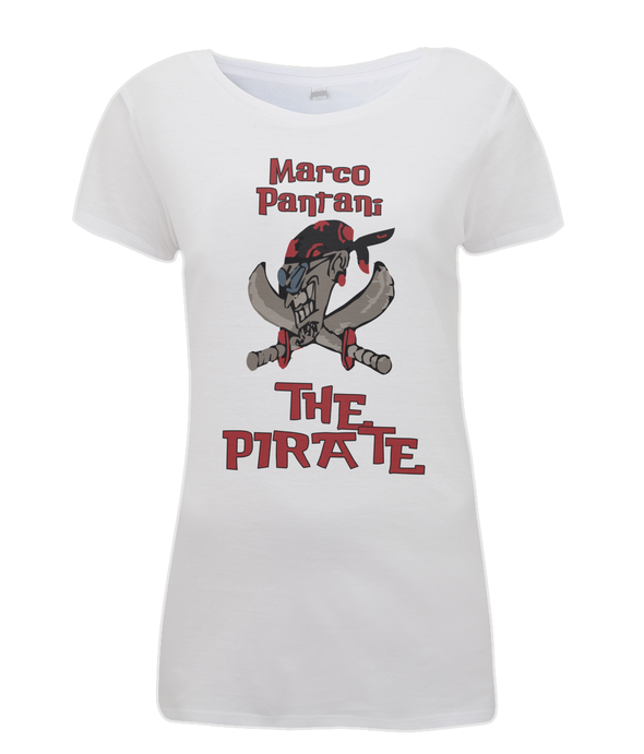 pantani the pirate womens t-shirt