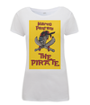 pantani the pirate womens t-shirt yellow