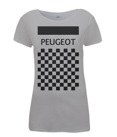 Peugeot womens cycling t-shirt grey