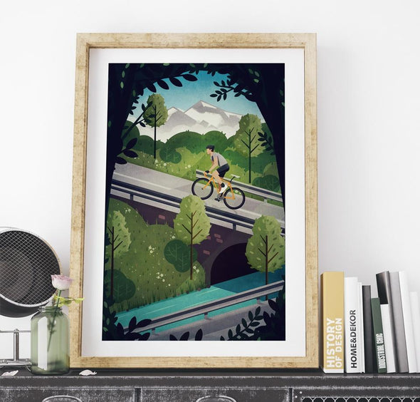 cycling prints