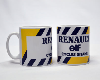 renault cycling mug