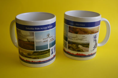 ride across britain picture mug
