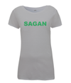 sagan green jersey womens t-shirt grey
