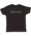 sagan t-shirt black