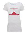 Passo Dello Stelvio womens t-shirt red