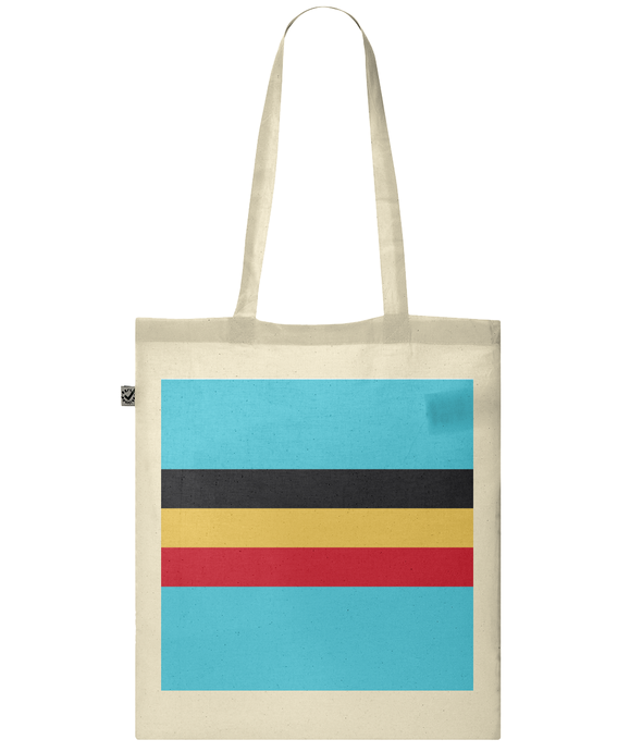 belgium cycling tote bag