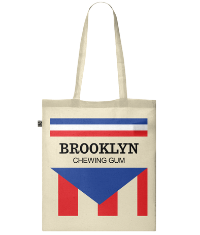 brooklyn chewing gum tote bag