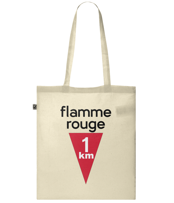 flamme rouge tote bag