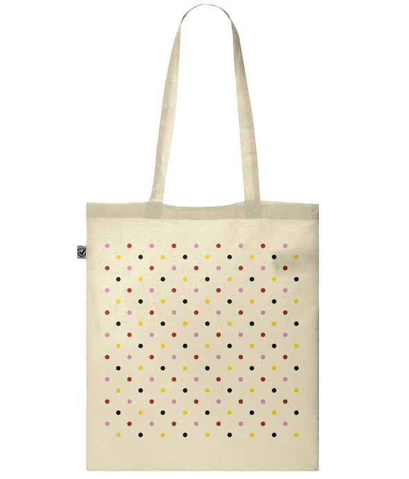 grand tour dots tote bag