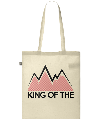king of the mountains tote bag