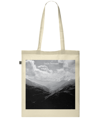 col du tourmalet scenery tote bag