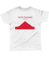 col du tourmalet t-shirt red
