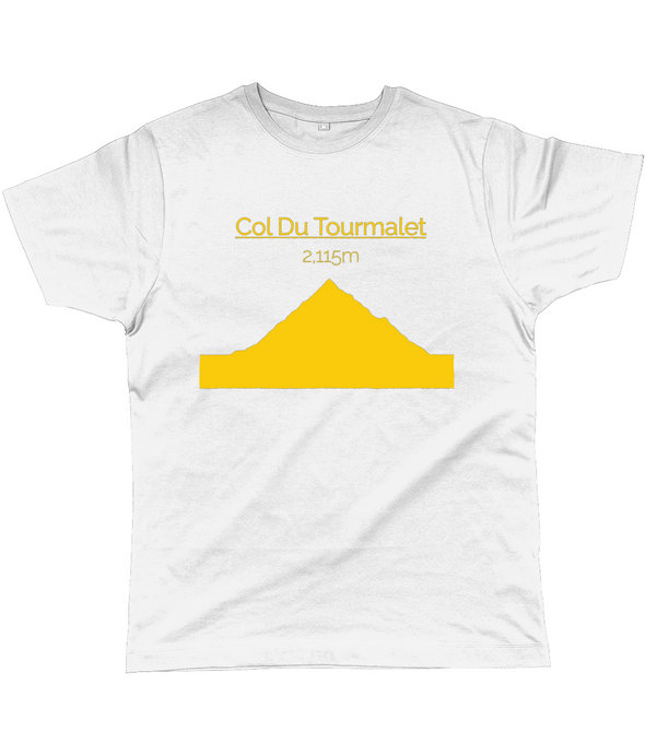 col du tourmalet t-shirt yellow