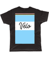velo cycling t-shirt black