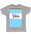 velo cycling t-shirt grey