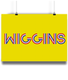 Bradley Wiggins poster yellow