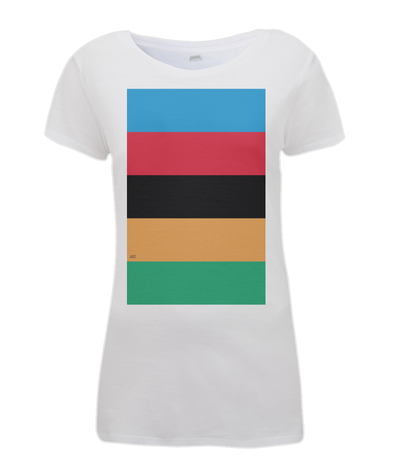 World Champion Stripes womens t-shirt