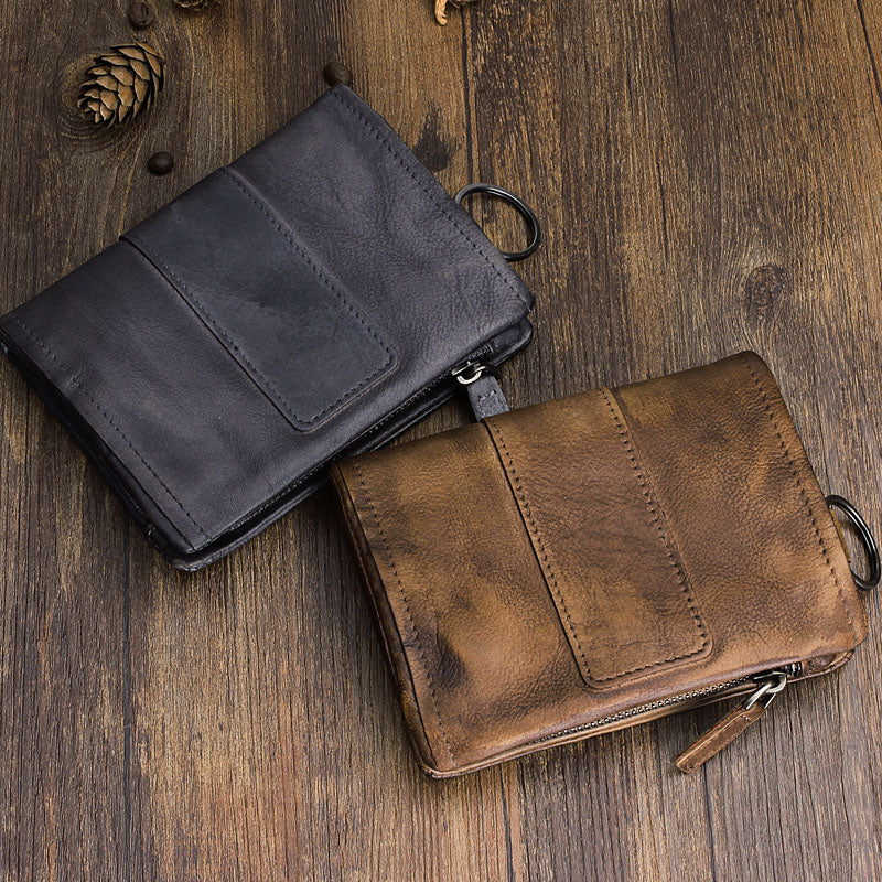 Cool Vintage Mens Leather SMall Wallets