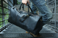Cool Leather Mens Weekender Bags Travel Bag Shoulder Bags for Men