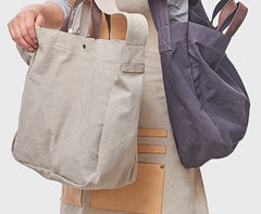 Cool Mens Canvas Tote Purse Handbag Canvas Tote Bag Shoulder Bag for Men