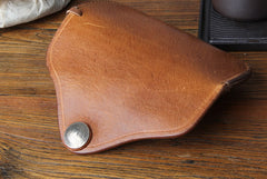 Handmade Mens Womens Cool Wooden Leather Glasses Case Glasses Box Glasses Holder Eyeglass Case